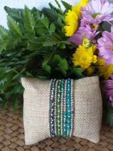 HRB958 Thailand Handmade SemiPrecious Stone Metal Bracelet