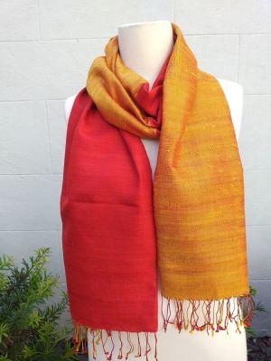 NCS706B SEAsTra 100 Raw Silk Scarf