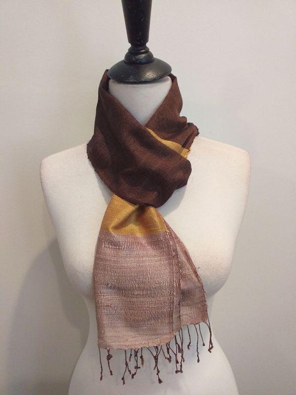 NDC001D SEAsTra Handwoven Silk Scarf