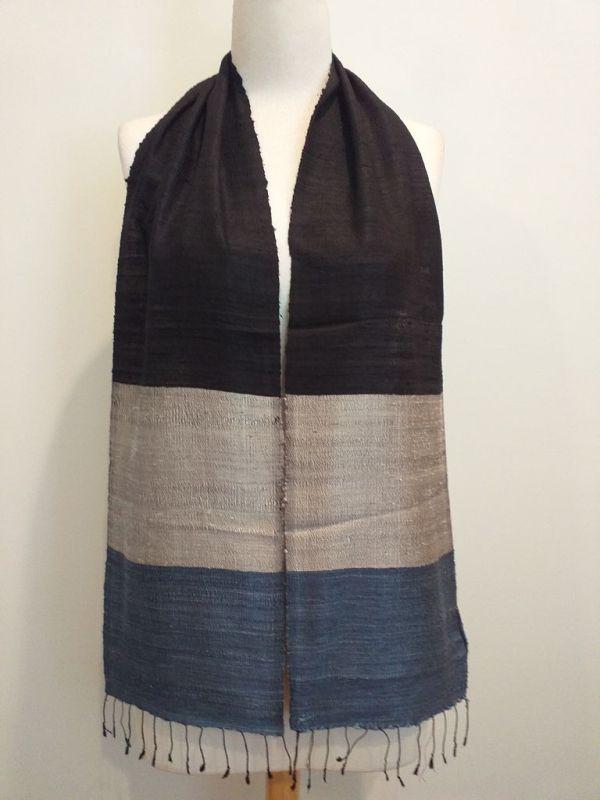 NDC008A SEAsTra Handwoven Silk Scarf