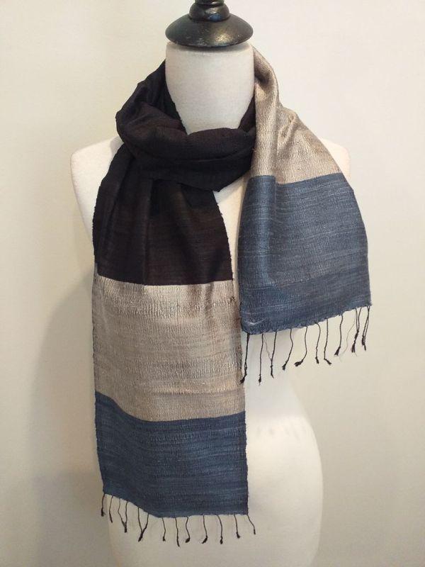 NDC008B SEAsTra Handwoven Silk Scarf