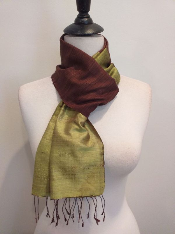 NDC019D SEAsTra Handwoven Silk Scarf