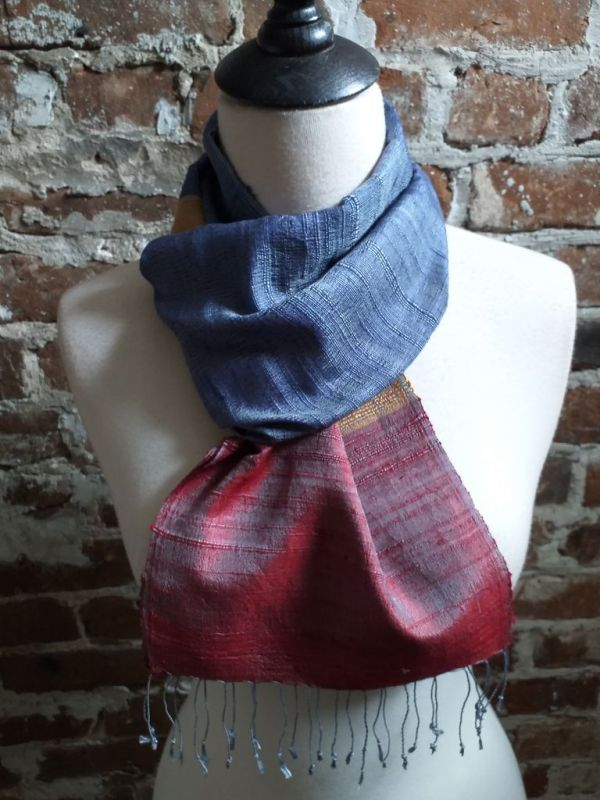 NDC022A SEAsTra Handwoven Silk Scarves