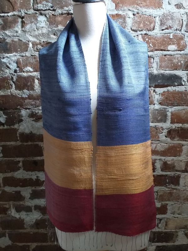 NDC022E SEAsTra Handwoven Silk Scarves