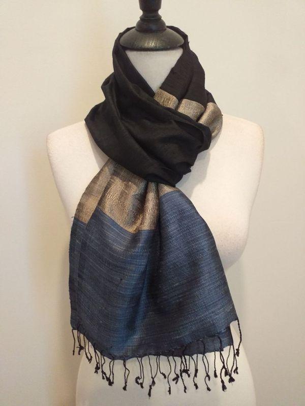 NDD008D SEAsTra Handwoven Silk scarf
