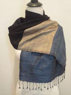 NDD008E SEAsTra Handwoven Silk scarf