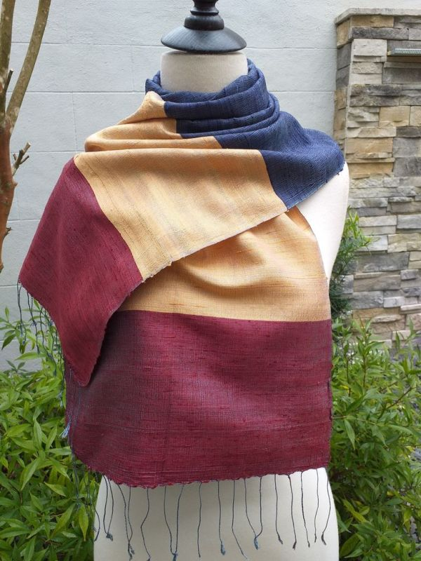 NDD022A SEAsTra Handwoven Silk Scarves