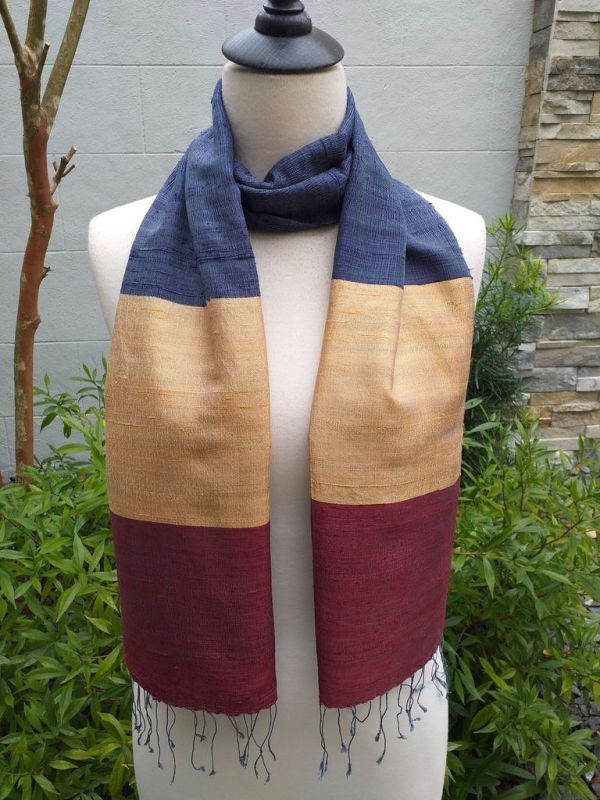 NDD022D SEAsTra Handwoven Silk Scarves
