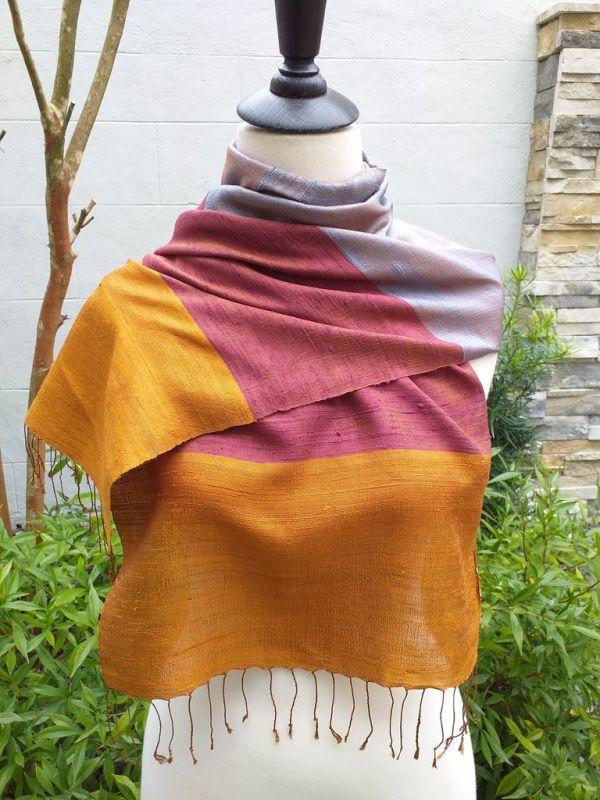 NDD330A SEAsTra Fairtrade Silk Scarves