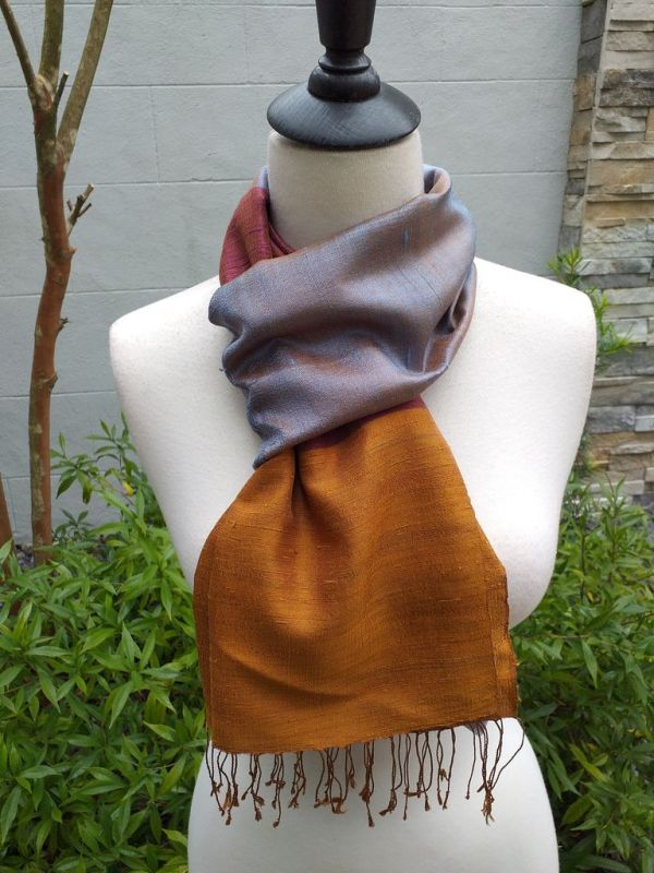 NDD330B SEAsTra Fairtrade Silk Scarves