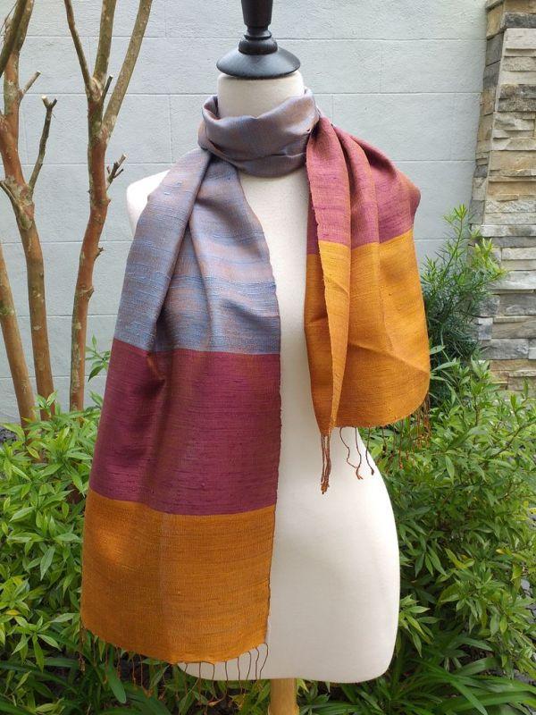 NDD330E SEAsTra Fairtrade Silk Scarves
