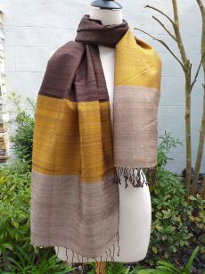 NDS001E SEAsTra Handwoven Silk Scarves