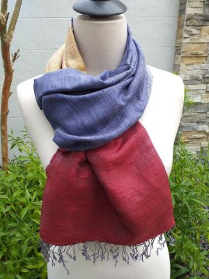 NDS022B SEAsTra Handwoven Silk Scarves