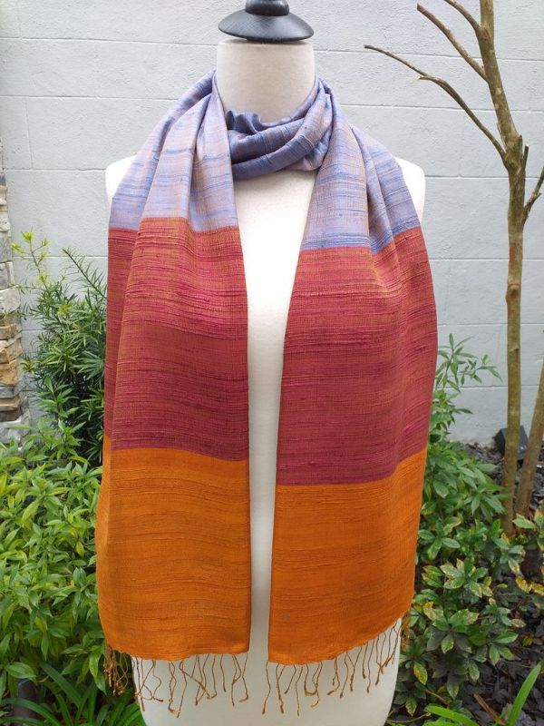 NDS330D SEAsTra Handwoven Silk Scarves