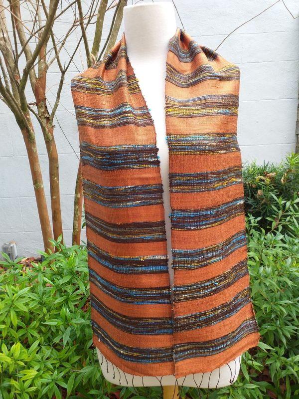 NFC001A SEAsTra Fairtrade Silk Scarf