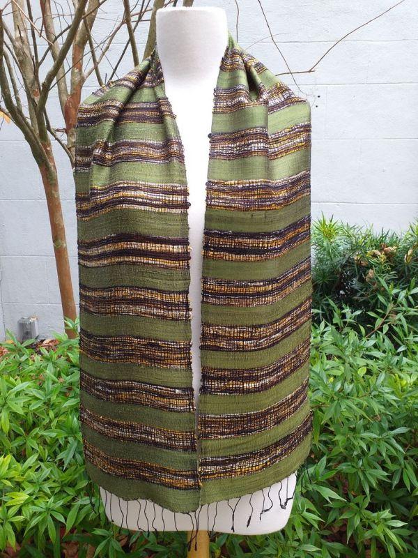 NFC139A SEAsTra Fairtrade Silk Scarf