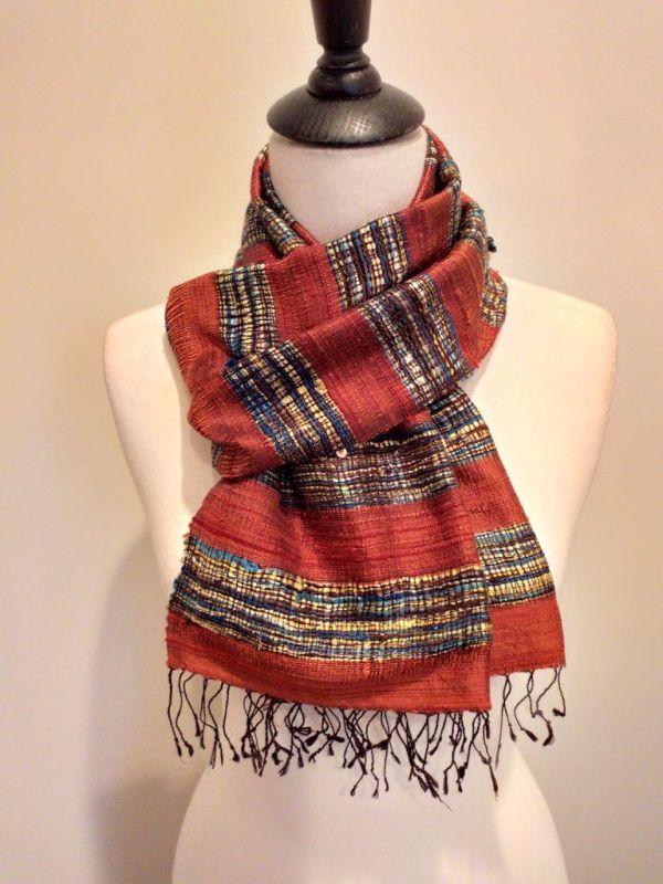 NFD001D SEAsTra Handwoven Silk scarf