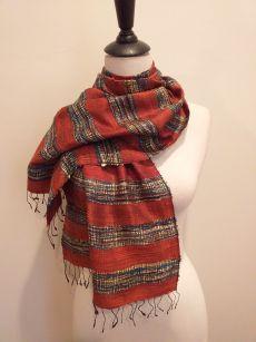 NFD001E SEAsTra Handwoven Silk scarf