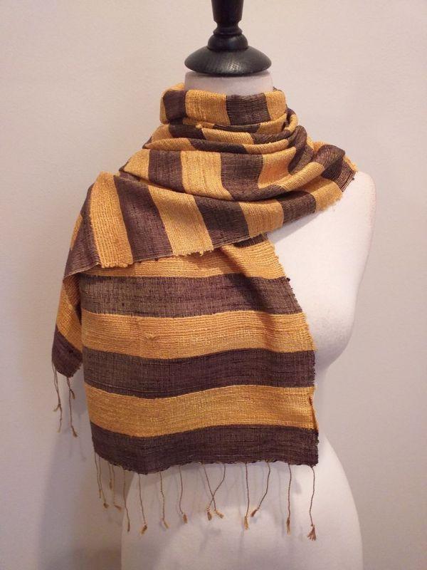 NFD035E SEAsTra Handwoven Silk scarf