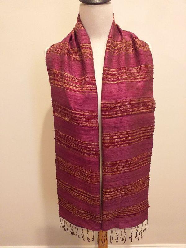 NFD039A SEAsTra Handwoven Silk scarf