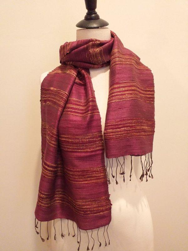 NFD039B SEAsTra Handwoven Silk scarf