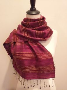 NFD039 SEAsTra Handwoven Silk scarf