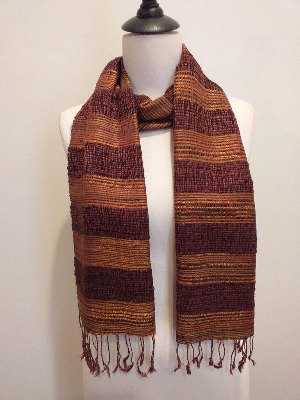 NFD189C SEAsTra Handwoven Silk scarf
