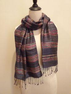 NFD561B SEAsTra Handwoven Silk scarf