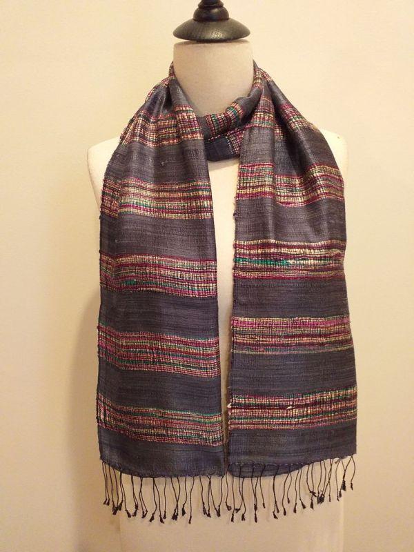 NFD561C SEAsTra Handwoven Silk scarf