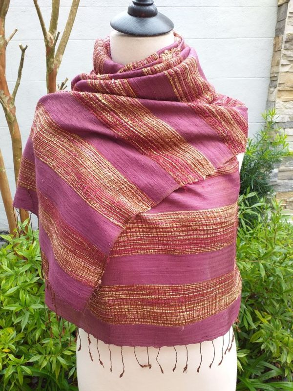 NFS039A SEAsTra Handwoven Silk Scarves