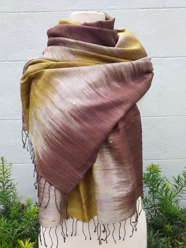 NLS340E SEAsTra Thailand Silk Scarf