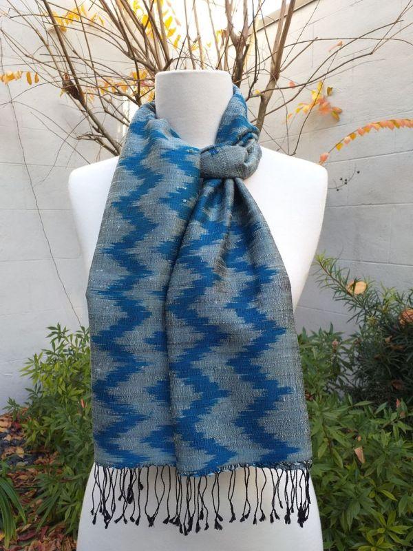 NMD675C SEAsTra Fairtrade Silk Scarf