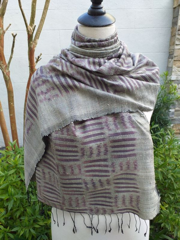 NMS672A SEAsTra Fair Trade Silk Scar