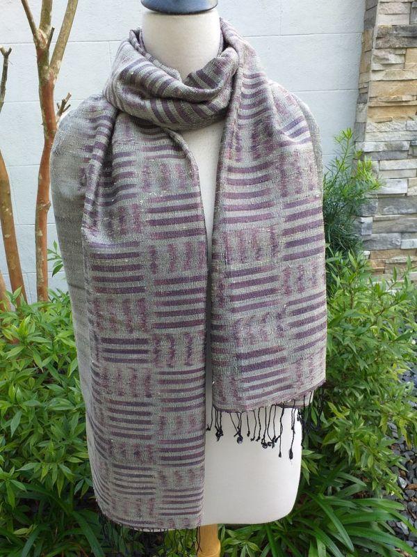 NMS672E SEAsTra Fair Trade Silk Scar