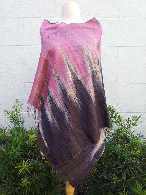 NMS865A SEAsTra Fairtrade Silk Scarf