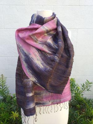 NMS865E SEAsTra Fairtrade Silk Scarf