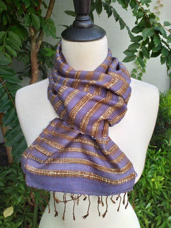 NNC005c Thai Silk Hand Wash Elegant Scarf