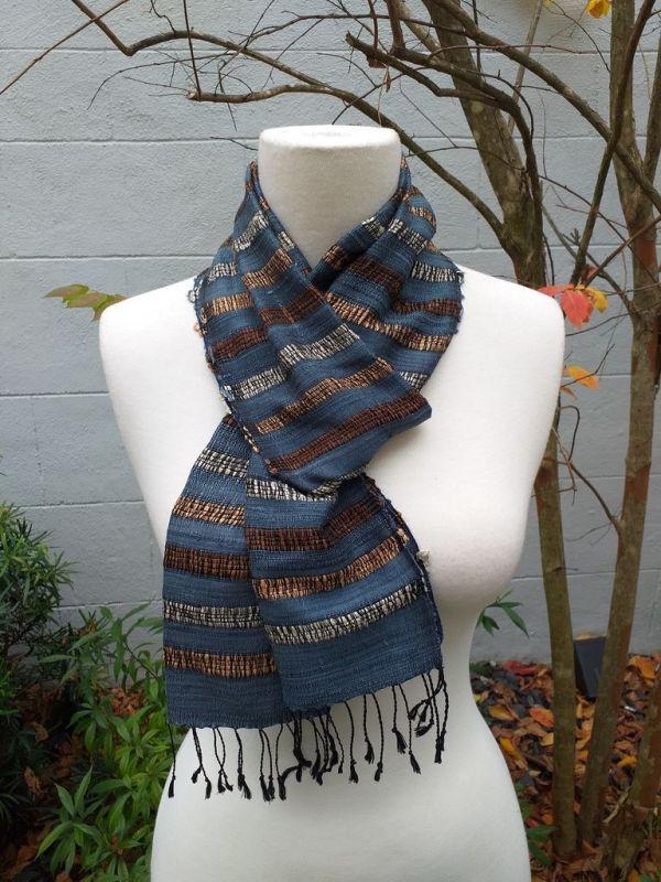 NNC572D SEAsTra Fairtrade Silk Scarf