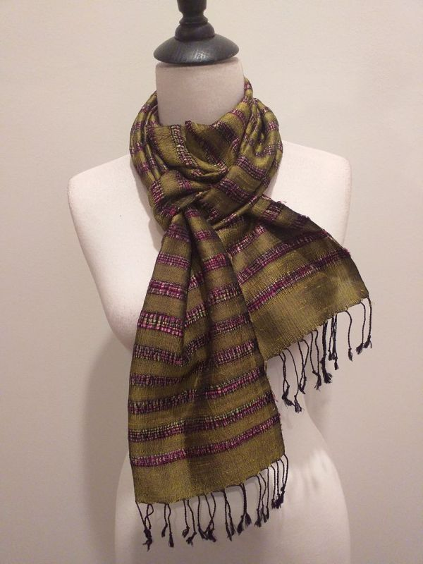 NND014D SEAsTra Fair Trade Silk Scarf
