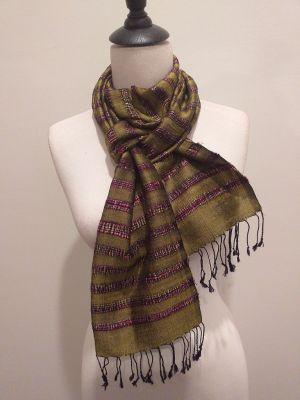 NND014D SEAsTra Fair Trade Silk Scarf