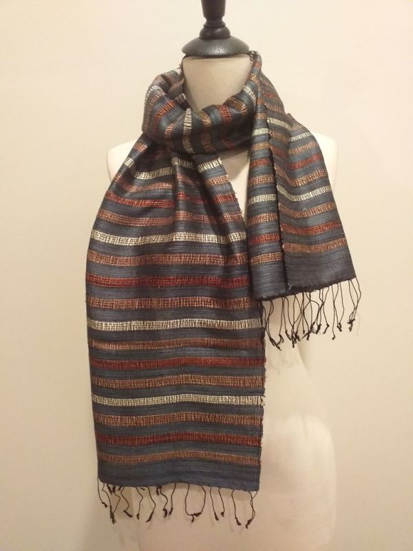 NND572B SEAsTra Fair Trade Silk Scarf
