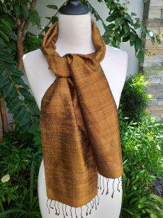 NPC160d Thai Silk Hand Spun Stylish Scarf