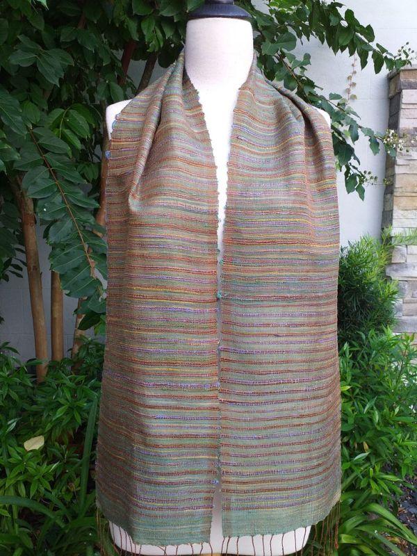 NSC311c Thai Silk Hand Wash Elegant Scarf