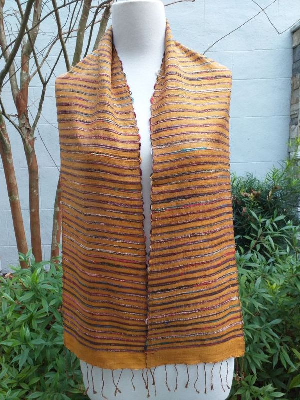 NSC327A SEAsTra Fair Trade Silk Scarf