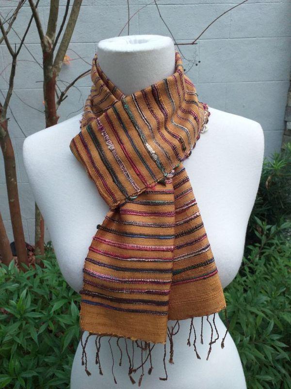 NSC327E SEAsTra Fair Trade Silk Scarf
