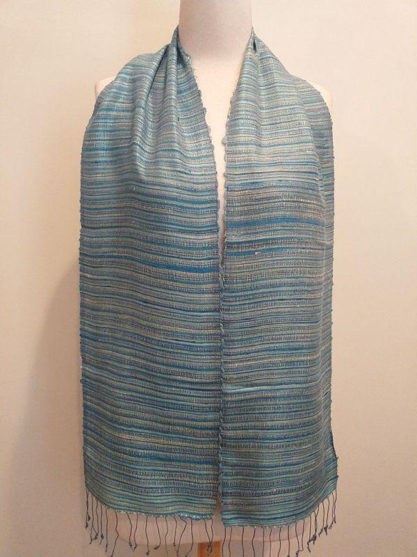 NSC555A SEAsTra Handwoven Silk scarf