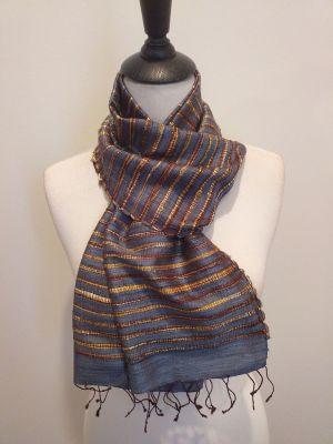 NSD002D SEAsTra Fairtrade Silk Scarf