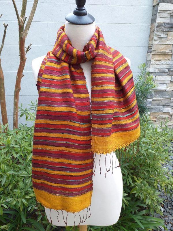 NSD203E SEAsTra Thailand Silk Scarves