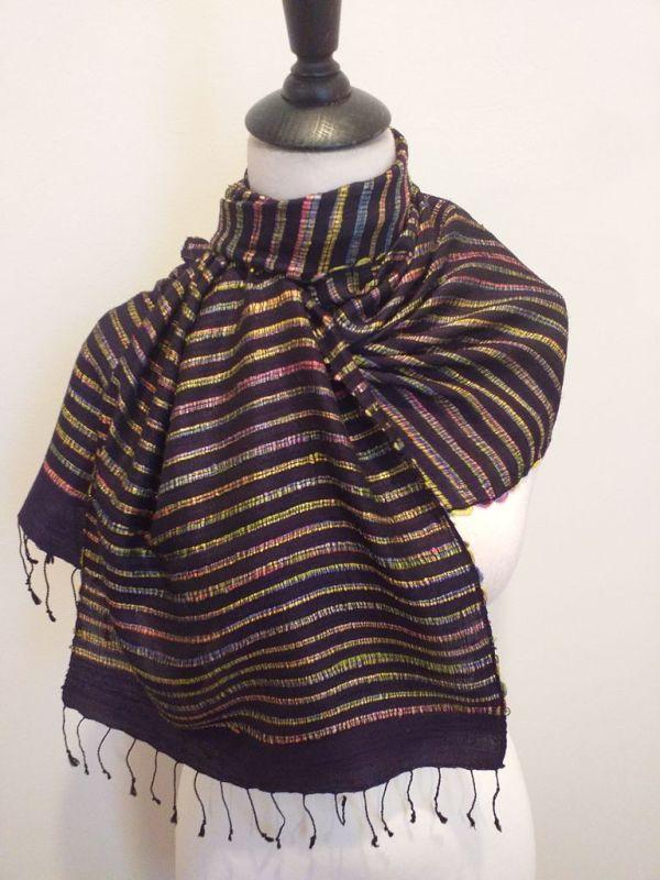 NSD312E SEAsTra Fairtrade Silk Scarf