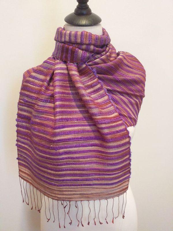 NSD605E SEAsTra Fairtrade Silk Scarf